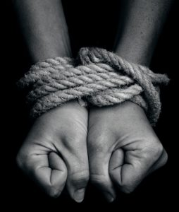 rope bondage hands